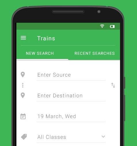 Pnr Status Prediction Train Ticket Availablity Check
