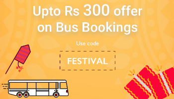 confirmtkt bus booking offer upto Rs 300 off